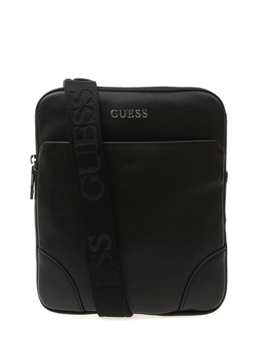 Guess Postacı Çantası Siyah